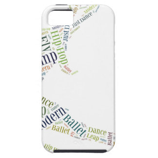 Dance Word Cloud iPhone 5 Covers