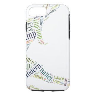Dance Word Cloud iPhone 8/7 Case