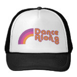 dancealong_rainbow_logo_cap trucker hats