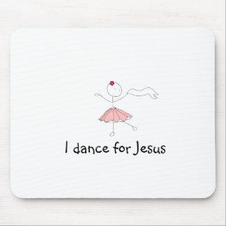 danceforhim, I dance for Jesus Mouse Mat