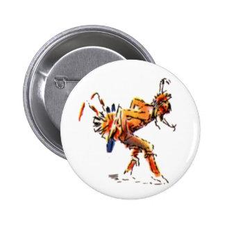 Dancer 6 Cm Round Badge