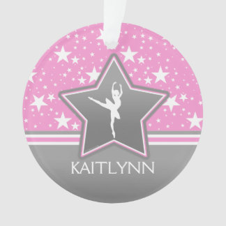 Dancer Among the Stars in Pink with YOUR NAME