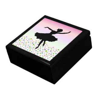 Dancer amongst the stars and pink sky gift box