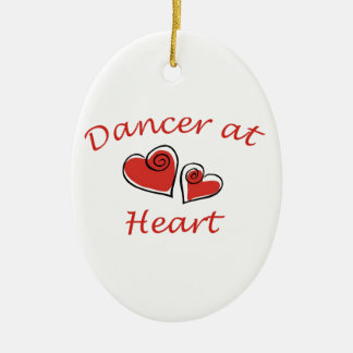 Dancer at Heart Christmas Ornament