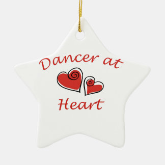 Dancer at Heart Christmas Ornament