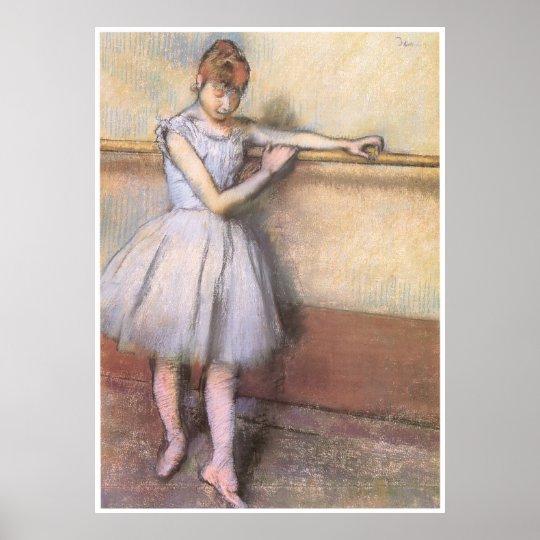 Dancer at the Bar, c. 1880, Edgar Degas Poster