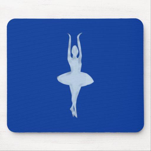 Dancer ballet more dancer clench mousepad