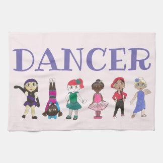 DANCER Ballet Tap Jazz Hip Hop Lyrical Teacher Tea Towel