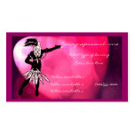 dancer business card template