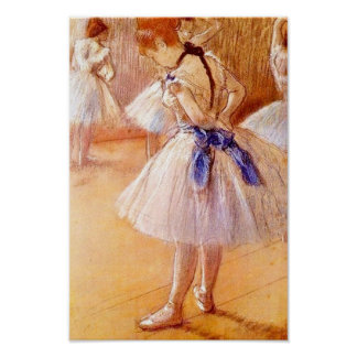 Dancer by Degas Poster