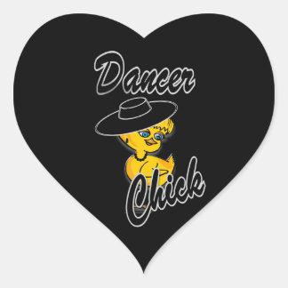 Dancer Chick #4 Sticker