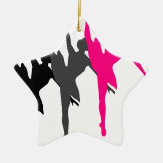 dancer christmas ornament