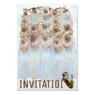 Dancer Classic Ballet Oper Festival Cigar Club 9 Cm X 13 Cm Invitation Card