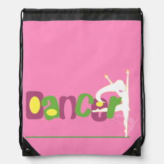 Dancer Drawstring Backpack