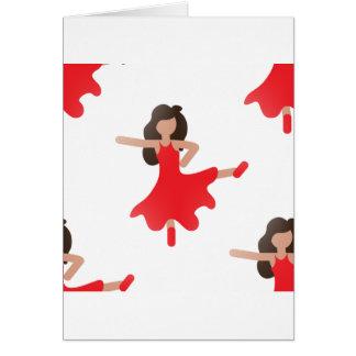 dancer emoji card