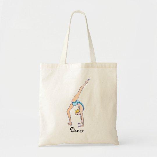 Dancer, Gymnast Tote Bag