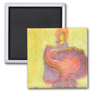 Dancer in Chinese Costume Magnet Refrigerator Magnet