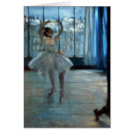 Dancer in Front of a Window  c.1874-77 Cards