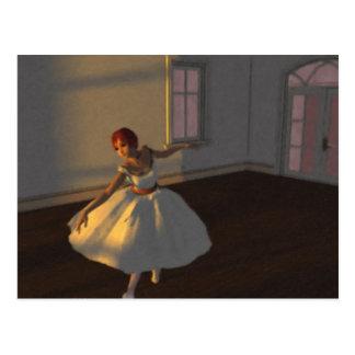 Dancer in the Great Room Postcard