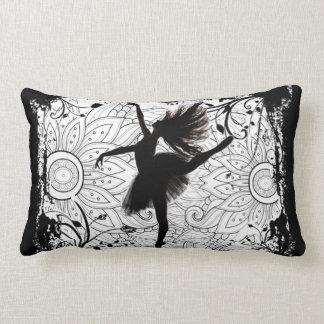 Dancer lumbar pillow