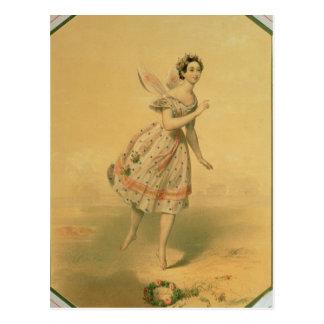 Dancer Maria Taglioni Postcard