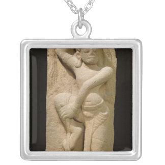 Dancer, Mison A-1 Style, from Vietnam Square Pendant Necklace