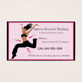 Dancer or Dance Studio Business Cards