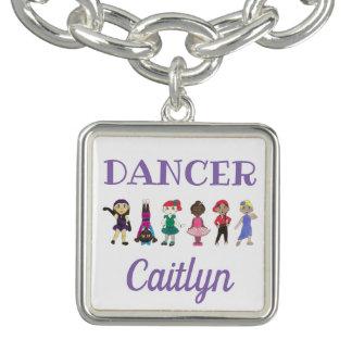 DANCER Personalized Girl Ballet Tap Jazz Ballerina