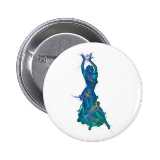Dancer *Pheja* 6 Cm Round Badge