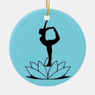 Dancer Pose - Yoga Christmas Ornaments