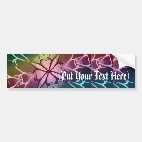 Dancer (Rainbow - Twist) Bumper Sticker