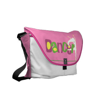 Dancer Schoolbag Courier Bag