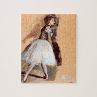 Dancer Standing by Edgar Degas, Vintage Ballet Art Jigsaw Puzzle
