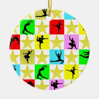 DANCER SUPER STAR CHRISTMAS DESIGN CHRISTMAS ORNAMENT