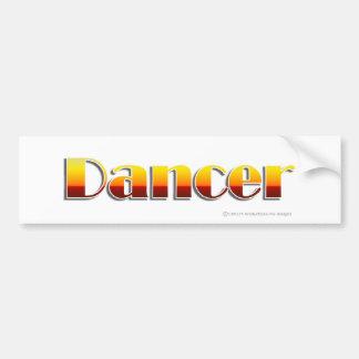 Dancer (Text Only) Bumper Sticker