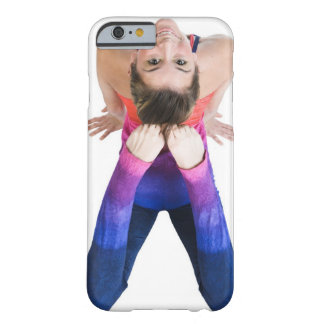 Dancer touching feet to head barely there iPhone 6 case