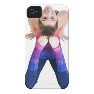Dancer touching feet to head Case-Mate iPhone 4 cases