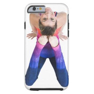 Dancer touching feet to head tough iPhone 6 case