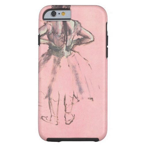 Dancer Viewed from the Back by Edgar Degas iPhone 6 Case