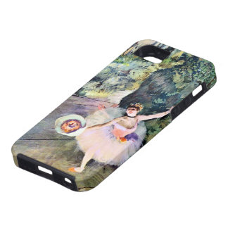 Dancer with a Bouquet of Flowers by Edgar Degas iPhone 5 Cover