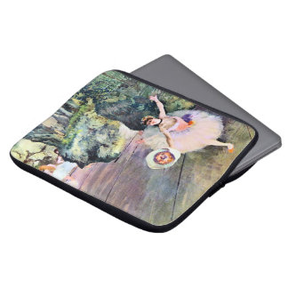 Dancer with a Bouquet of Flowers by Edgar Degas Laptop Sleeve