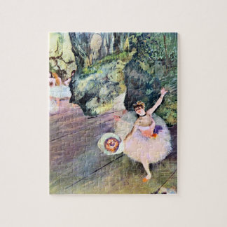 Dancer with a Bouquet of Flowers by Edgar Degas Puzzles