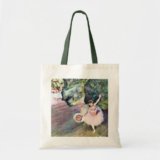 Dancer with a Bouquet of Flowers by Edgar Degas Tote Bag