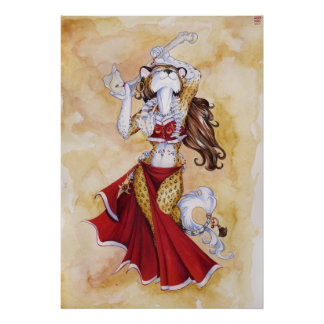 Dancer with Bones Poster