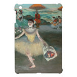 Dancer with bouquet, curtseying, 1877 iPad mini cases