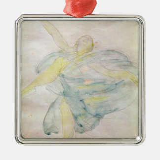 Dancer with Veils Christmas Ornament