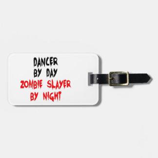 Dancer Zombie Slayer Luggage Tag