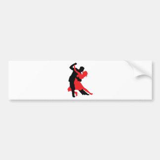 Dancers 1 bumper sticker