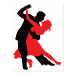 Dancers 1 postcard