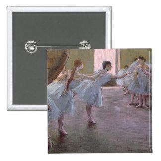 Dancers at Rehearsal, , 1875-1877 15 Cm Square Badge
